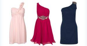 Stylowe sukienki na jedno ramię