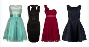 Cztery szykowne kolorowe sukienki na wesele