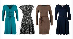 Markowe sukienki z dżerseju