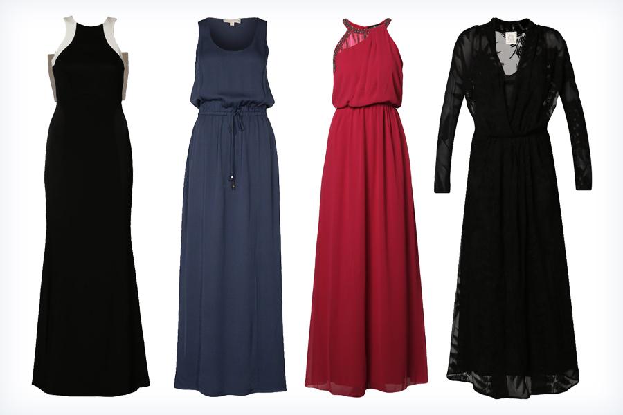 Długie galowe suknie wieczorowe