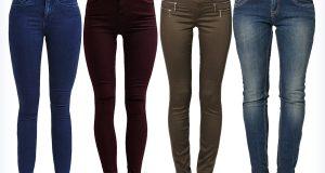 Modne super slim fit jeansy