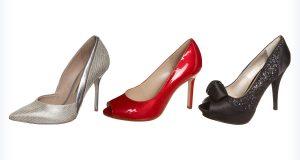 Wysokie buty do granatowej sukienki