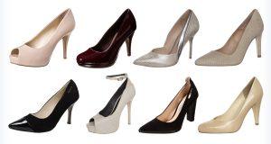Klasyczne wysokie buty na studniówkę