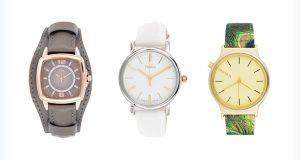 Trzy efektowne zegarki na rękę